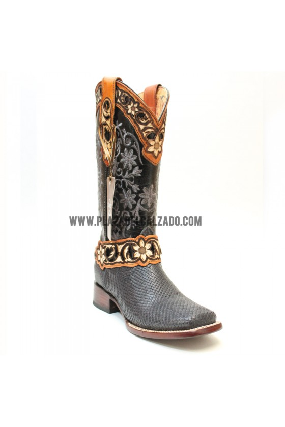 Women's Black Quincy Cowgirl Boots