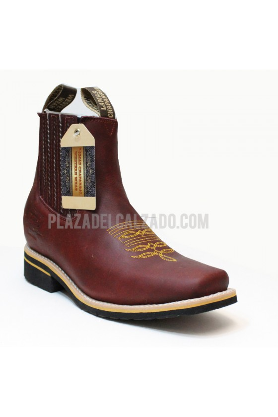 Square Toe Half Boot