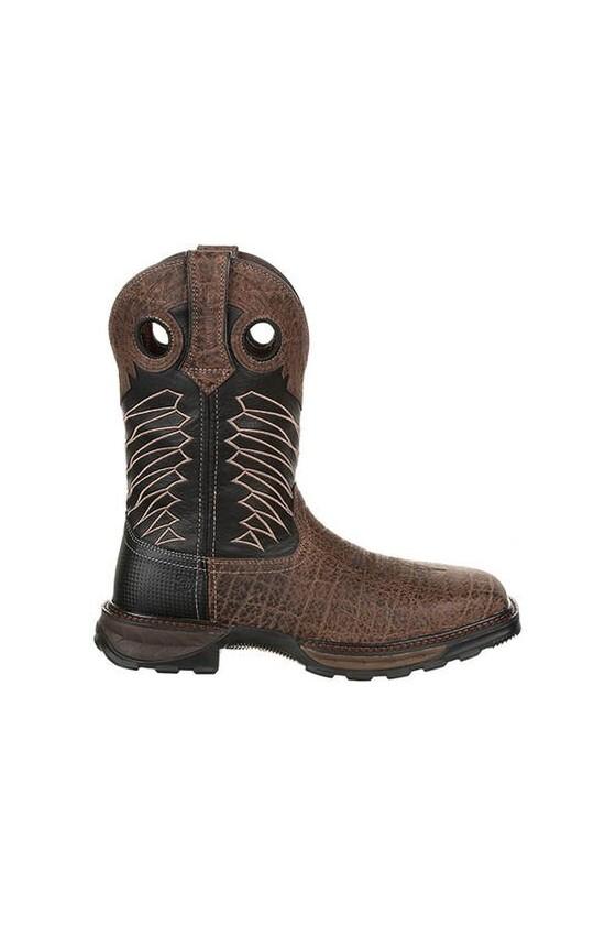 Durango Maverick XP Safari Elephant Steel Toe Waterproof Work Boot