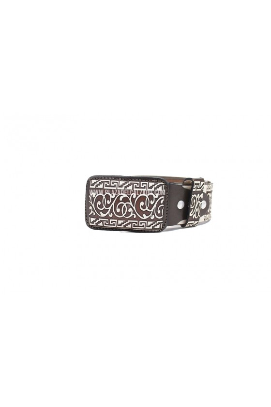 Men's Charro Belt Pattern Belt