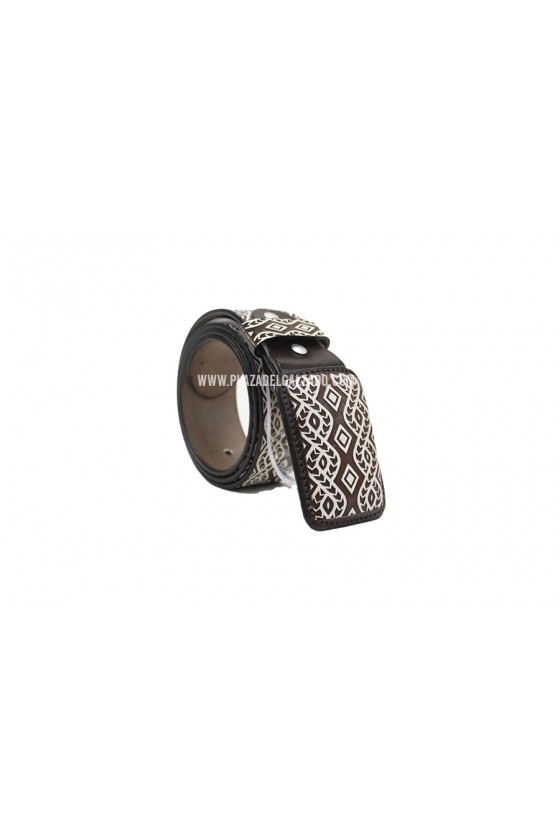 Men's Charro Belt Aztec...